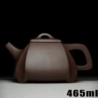 Authentic Yixing Zisha Masters Handmade Teapot Ore Old Purple Mud Pumping Pot Wholesale Crafts 332 Square
