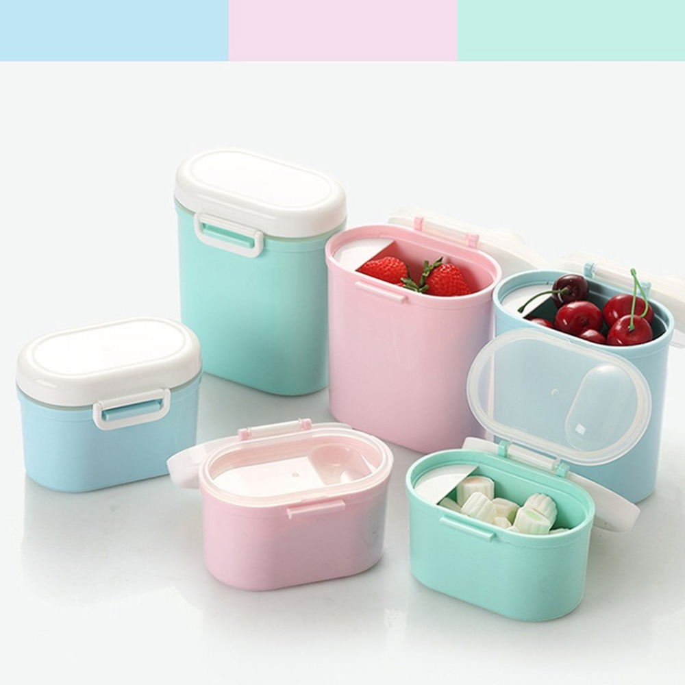 Organizer Container Food-Storage-Box Snack Kitchen Nut Pp With Lids For Reusable