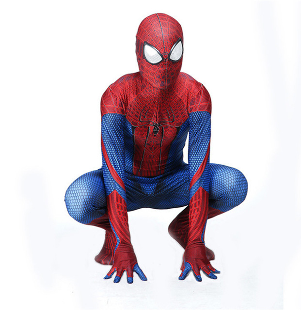 Spiderman costume Leica Adult Kids