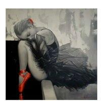 AZQSD Diamond Embroidery Beautiful Ballet Girl Mosaic Painting For Living Room Decor Square Diamond Painting Cross