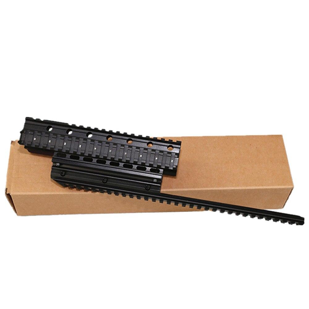 AK long poisson os Saiga 12 tactique Long Handguard Quad Rail système accessoire de chasse pour q-rail