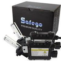 Safego escondeu kit xenon 12 v 35 w car hid xenon farol H1 H3 h7 h27 H4 H7 H8 H9 H10 H11 H13 880 881 9003 9004 9005 9006 9007 6000 k