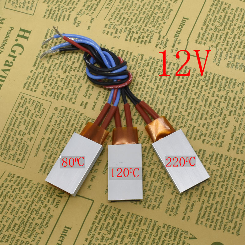 1 Pcs Heating Element Hair Dryer Accessories Curlers Heater 80-220 Degrees Celsius Ptc Heaters 12V Applicable Miniature Heating