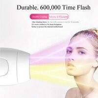 600000 플래시 전문 영구 ipl 제 모기 레이저 제모 전기 사진 여성 painless 스레딩 헤어 리무버 기계