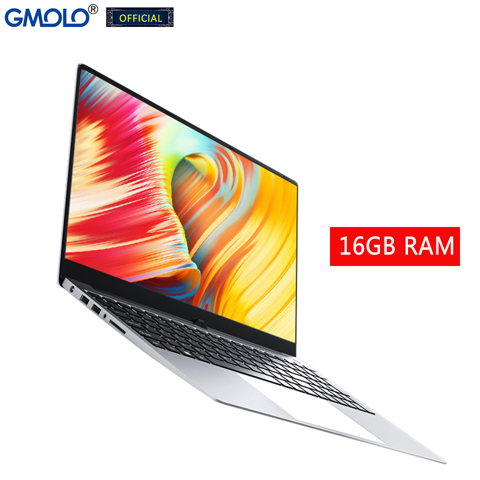GMOLO 15.6 gamer computer  16GB RAM 256GB SSD + 1TB HDD intel Core I7 4th Gen 15.6inch metal gaming notebook laptop 1