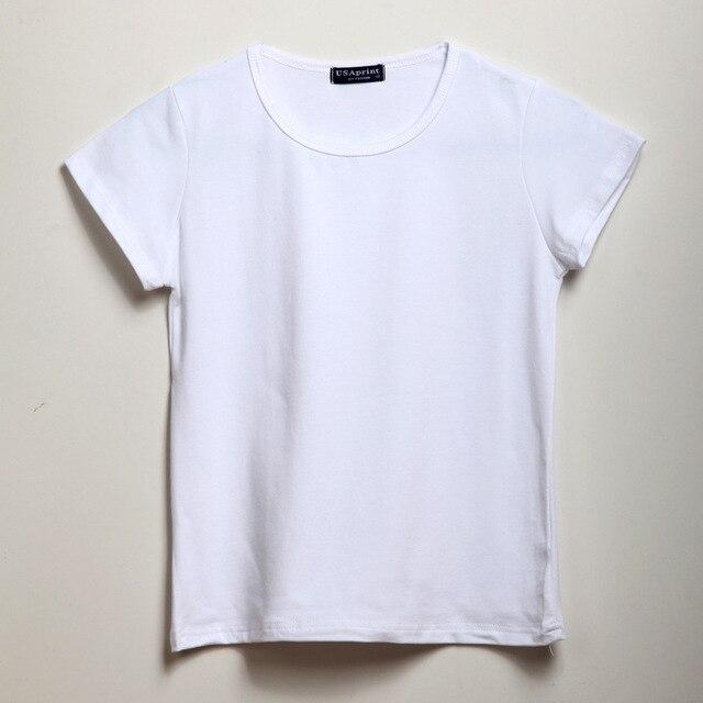Child Unisex Plain Basic T Shirts Girls Boys Black Blank 100 ...