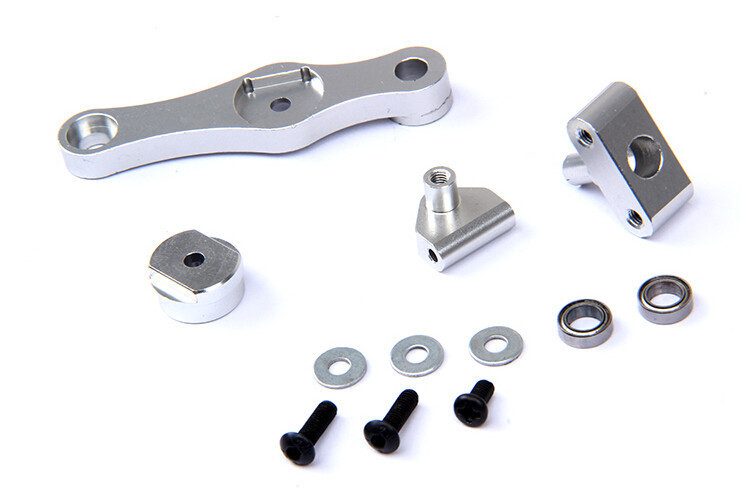 LT CNC Metal throttle servo arm kit (17T/15T) for 1/5 RC CAR HPI ROVAN baja losi 5ive-T parts 87063 rovan cnc metal rear suspension arm set fit hpi baja losi 5ive t parts