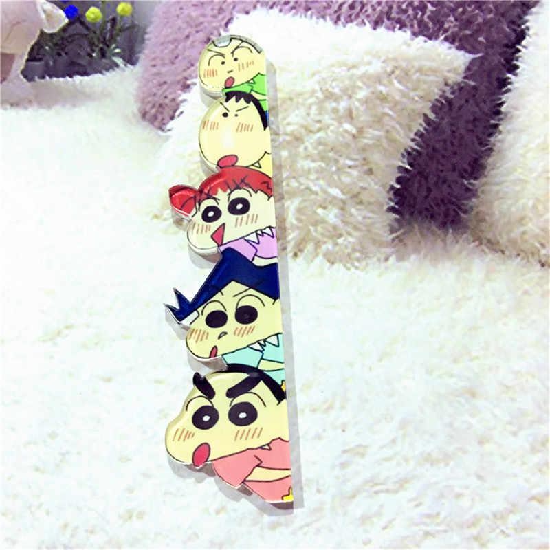 1Pcs Crayon Shinchan Panda Spille per le Donne I Bambini Risvolto Spille Vestiti Scarpe Decorazione Distintivi E Simboli Bambini Regalo Di Compleanno