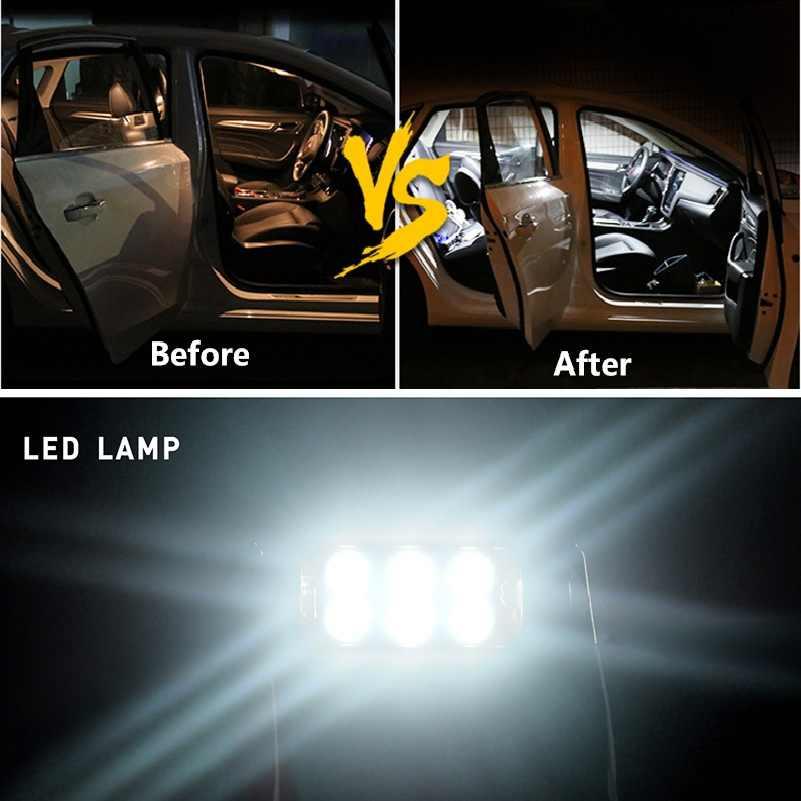 2x רכב Led Canbus לויה 36mm C5W מנורת לוחית רישוי אורות לפולקסווגן פולקסווגן גולף 3 4 5 6 פאסאט B6 B5 3C פולו 12V שגיאת משלוח