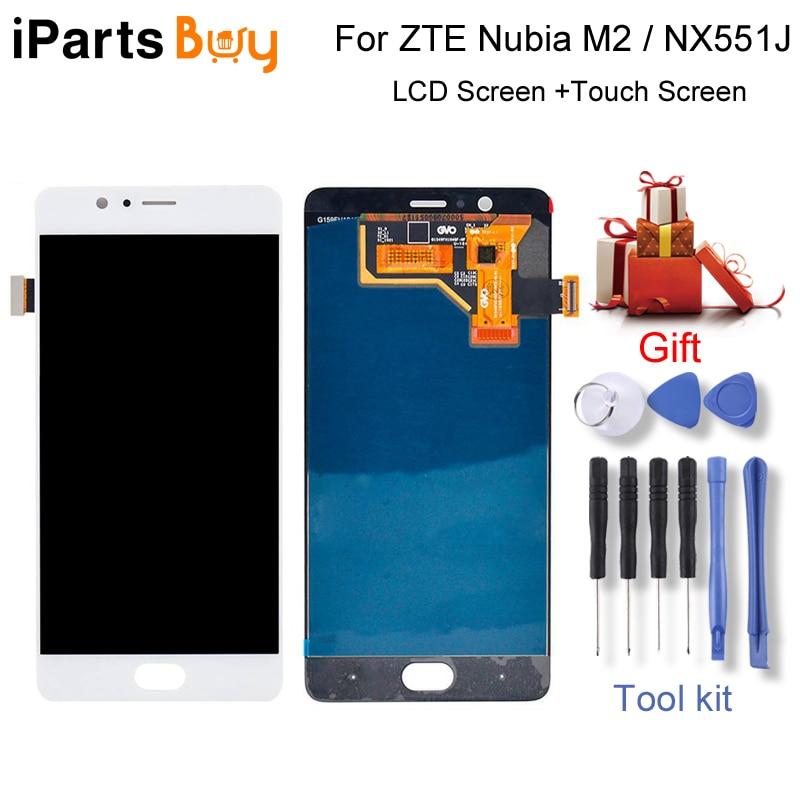 ZTE Nubia M2/NX551J Écran LCD et Digitizer Assemblée Complet