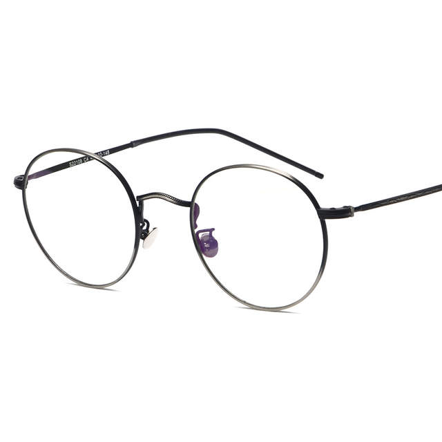 24dfac555e Vazrobe Small Round Glasses Men Women Vintage Eyeglasses Frames for optical  lens prescription spectacles metal black