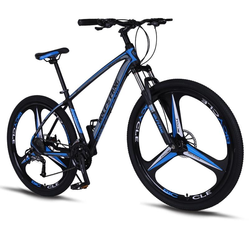 Casdona Vélo 27-vitesse VTT 29-pouces pneu route cadre de vélo taille 17-pouces produit unisexe Résistance Mécanique frein à disque