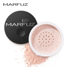 MARFUZ Cosmetics  Face Loose Powder Matte Finish Setting Powder Professional Translucent Makeup Foundation Compact Powder
