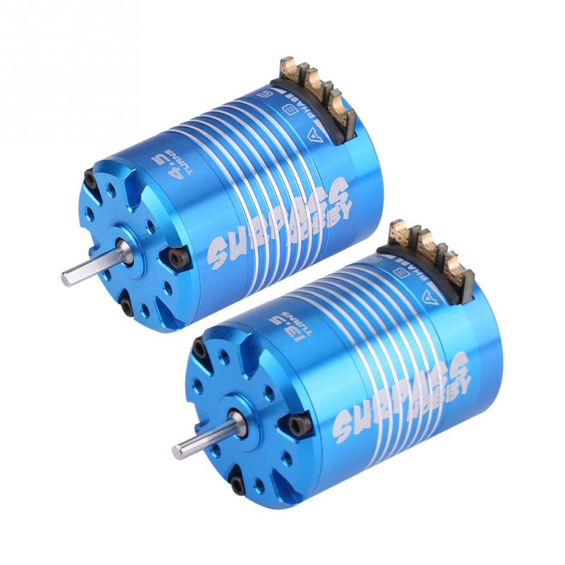 2 Poles 540 4.5T 13.5T Sensored Brushless Motor RC <font><b>Accessories</b></font> For <font><b>1/10</b></font> Remote Control Car High Quality 540 Motor RC Car Parts image
