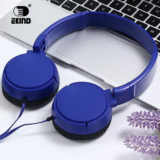 EKIND Headphones Wired Stereo Gaming headset With Mic Over Ear Headsets Bass HiFi Sound Music Earphone sound intone c18 adjustable over ear headpones wired hifi sound stereo headsets with microphone for phone music computer gaming