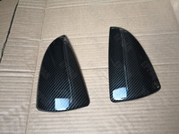 Carbon Fiber Effect Mirror Covers for 2018 2019 Lexus IS200 IS300 IS300H