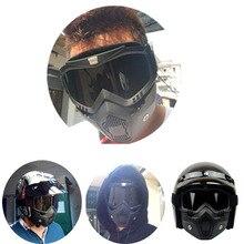 Новый популярный BEON черный antifogging мотоцикл очки со сменными маска, Ветрозащитный лыжные очки мотоцикл рыцарь очки