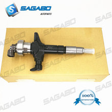 Diesel fuel injector 295050-1900 295050-0910 295050-0811 8-98260109-0 for I suzu D-max