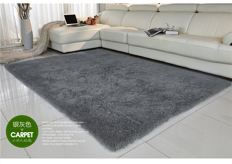 Free Shipping Anti Slip 80 160cm 4 5cm Thick Large Floor Carpets For Living Room Modern Area Rug Bedroom Gy In Carpet From Home Garden On