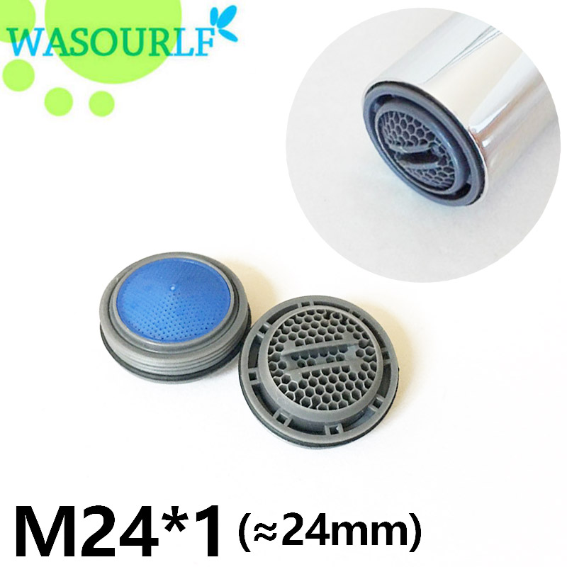 WASOURLF 2 PCS Water Saving Faucet Aerator 24mm Male Thread M24 *1 Tap Device Free Shipping Welcome Wholesale