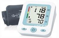 Automatische Digitale Bovenarm Elektronische Bloeddruk Hartslagmeter Bloeddrukmeter Voorkomen Hypertensie