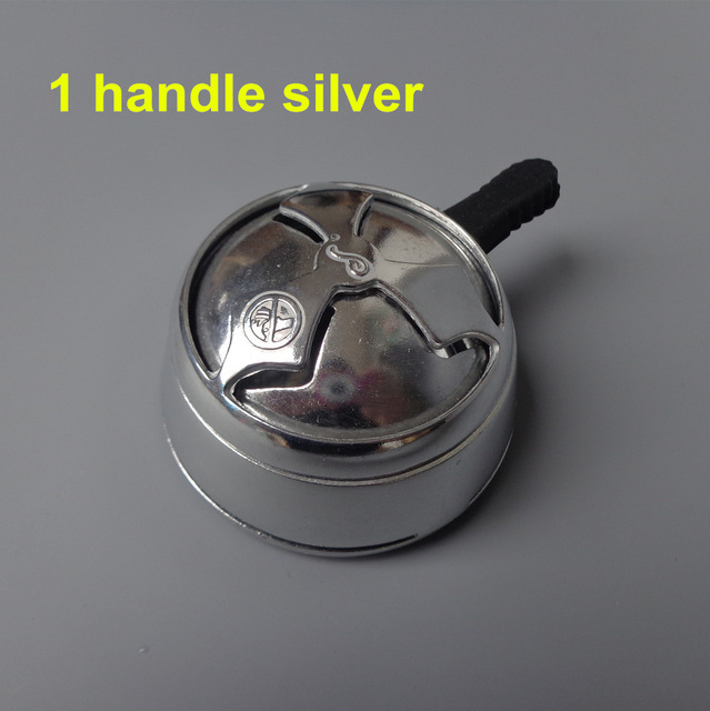 1pc aluminum shisha hookah bowl, charcoal holder, heat keeper
