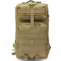 3P Military Tactical Assault Pack Backpack Army Molle Waterproof Bug Out Bag Small Rucksack For Outdoor