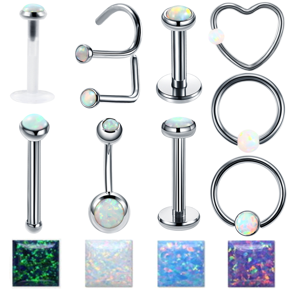 Body Jewelry Jewelry & Accessories Lip Nipple Tragus Ear Nose Pa Septum Assorted Popular Body Piercing Jewelry Ear Rings Labret Stud Official Website Bcr Cbr Ball Closure Ring