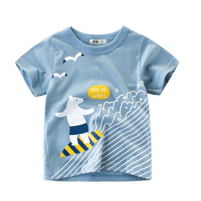 44c25c5e55e Online Shop Summer Children T Shirts Cotton Short Sleeve Kids T ...