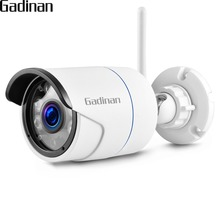 GADINAN iCSee WiFi 720P 960P 1080P Outdoor Metal Bullet IP Camera Security Video Waterproof Night Vision with 64G SD Card Slot