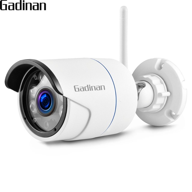 US $26 66 15% OFF|GADINAN iCSee WiFi 720P 960P 1080P Outdoor Metal Bullet  IP Camera Security Video Waterproof Night Vision with 64G SD Card Slot-in