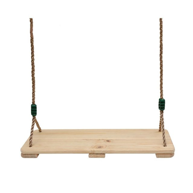Outdoor Playground Baby Kids Birch Wooden Garden Patio Swings And Slides  Tree Swing For Children Adults