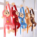 2016  children  loverly small  monkey cartoon plush Toys Baby cute stuffed animals  doll  birthday gifts Toys for Kids  TO13