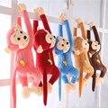 2016 niños loverly pequeño mono de peluche de dibujos animados Juguetes Del Bebé lindo animales de peluche regalos de cumpleaños de la muñeca Juguetes para Niños A