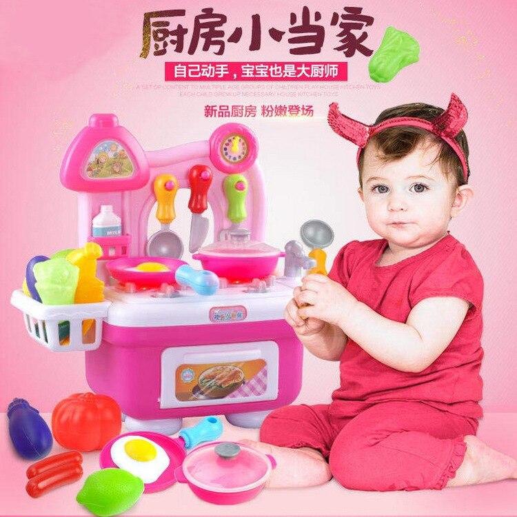 venta caliente nios cocina juguetes para nias juguetes de cocina los nios juegos de imaginacin juguetes con luz y sonid