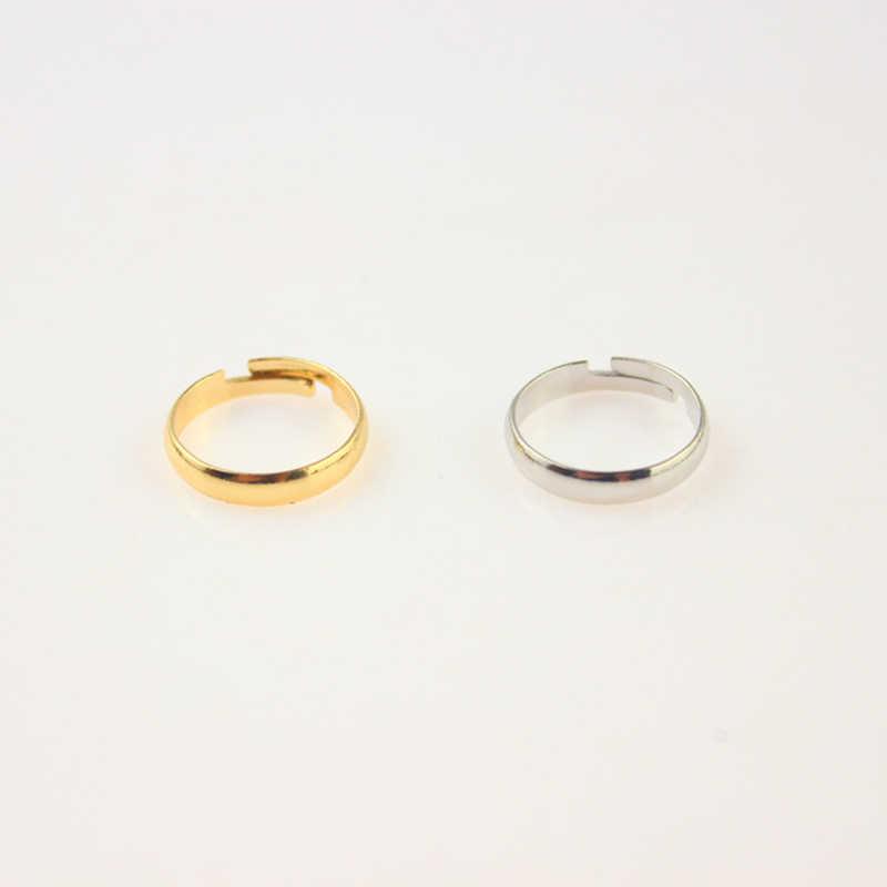 シルバーゴールドカラーメタル調節可能なつま先リングファッションシンプルな足ボディジュエリービーチジュエリー1ピース