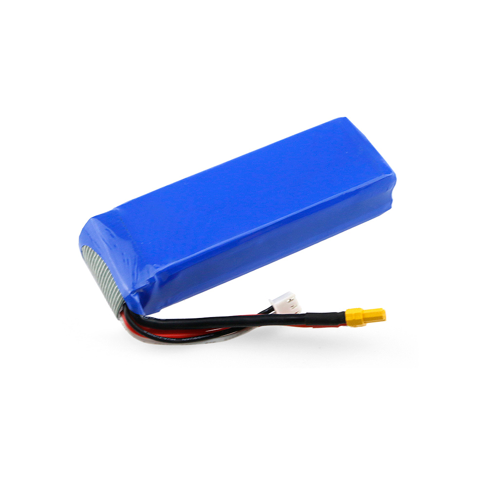 <font><b>7.4V</b></font> <font><b>2300mAh</b></font> 25C Li-po <font><b>Battery</b></font> with XT30 Plug for MJX Bugs 3 B3 RC Drone Quadcopter Lithium <font><b>Battery</b></font> RC Parts image