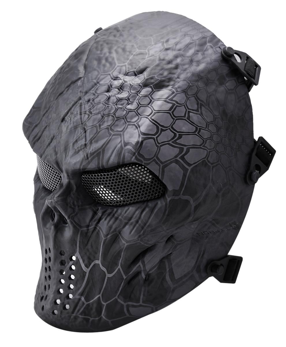 Online Shop COXEER Snake Camouflage Hunting Masks Ghost Tactical ...