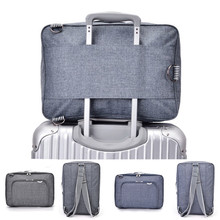 Mochila de viagem original, mochila multifuncional unissex, com grande capacidade, ideal para viagens, laptop