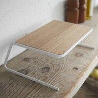 Eco friendly Wooden Drying Multifunctional Storage Holder Decorating Desktop Convenient Gift Kitchen Supplies Dish Rack Plate