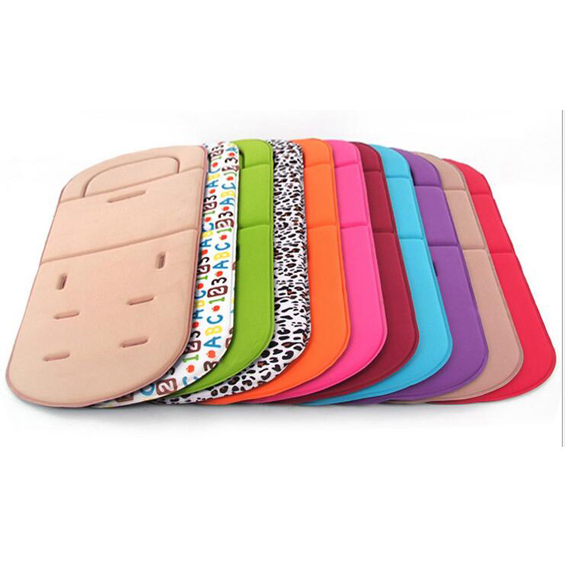 2017 new Pushchair Car Auto Seat Breathable Cotton Cushion Seat Padding Baby Pram Liner Pad Cushion Stroller Accessory