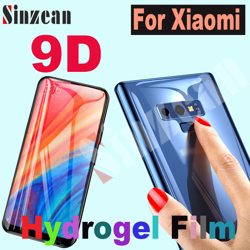 200pcs For Xiaomi mi note 10/Redmi K40 Pro/ mi 11 pro 3D Full Cover Soft hydrogel film Screen Protector