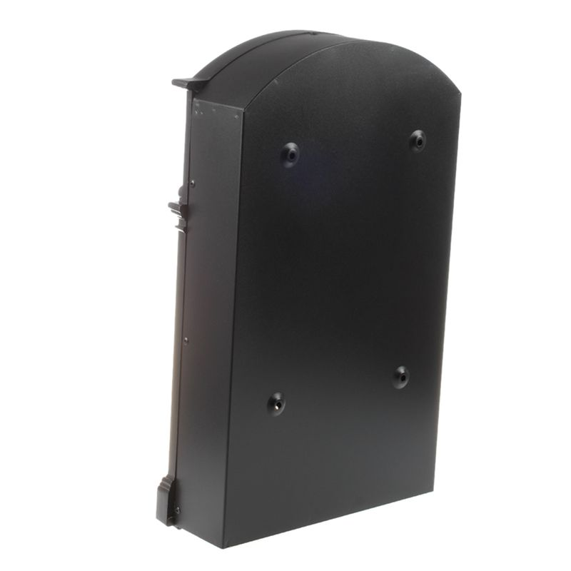 Heavy Duty Black Aluminium Lockable Secure Mail Letter Post Box Letterbox New in Mailboxes from Home Garden