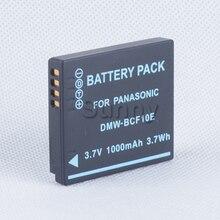 Литий-ионная аккумуляторная батарея для panasonic dmw-bcf10e, dmw bcf10e, DMWBCF10E, DMW-BCF10PP, DMW BCF10PP, CGA-S/106B 3.7 В 1000 мАч