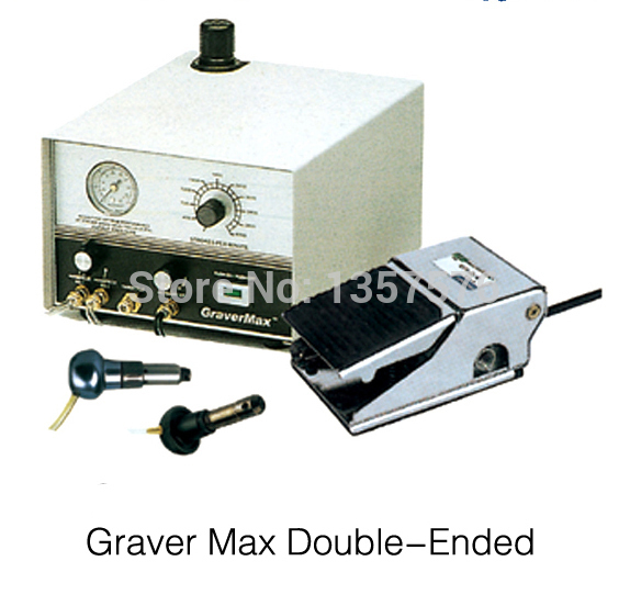 New Arrival Graver Double Ended Jewelry Engraving Equipment, grave wax machine with handpiece , Jewelry Engraving machine joyeri
