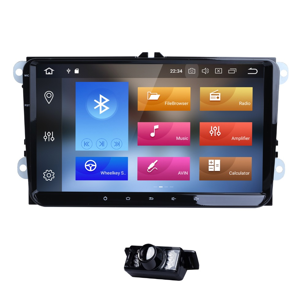 PX5 Android 8.0 Octa Core Car GPS Navi for Volkswagen VW Skoda Octavia golf 5 6 touran passat B6 jetta polo tiguan player audio