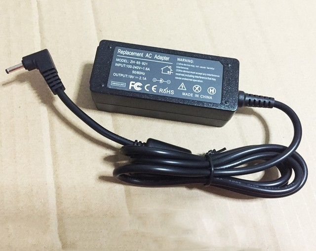 19 В 2.1A ноутбук AC адаптер питания зарядное устройство для Samsung NP900X3C NP900X4C NP900X3A NP900X1 530U3C 535U3C N130 N140 N145 N148