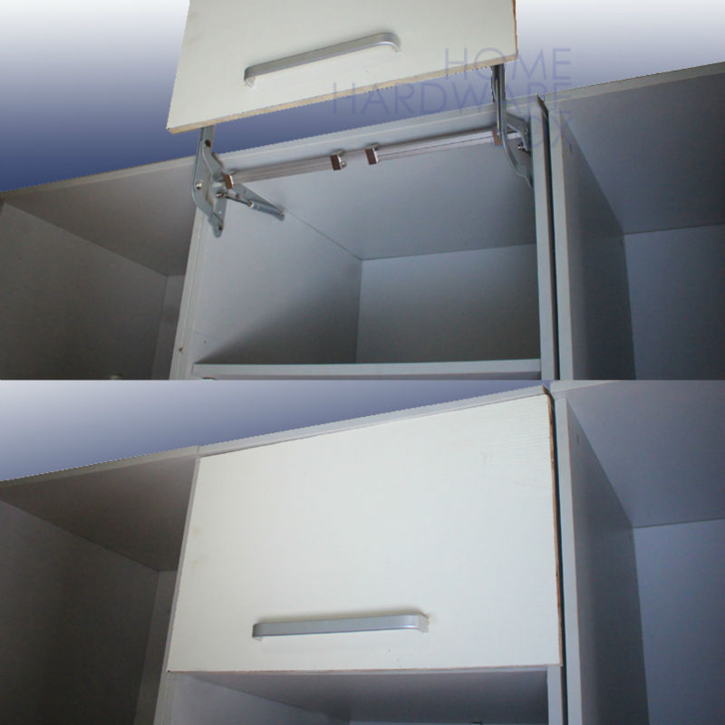 cabinet door vertical swing lift up stay pneumatic arm kitchen mechanism hinges-in Cabinet Hinges from Home Improvement on Aliexpress.com | Alibaba Group & cabinet door vertical swing lift up stay pneumatic arm kitchen ...