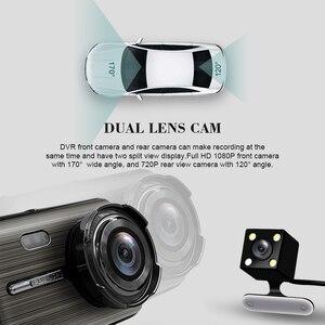 Image 4 - Автомобильный видеорегистратор 2 s 4,0 дюйма, HD цифровой видеорегистратор, Автомобильный регистратор с двойным объективом и камерой заднего вида, видеокамера