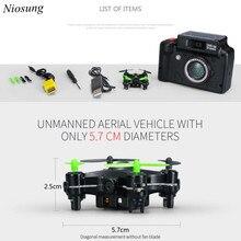 Niosung High Quality DHD D2 MINI With 2.0MP HD Camera Headless Mode RC Quadcopter RTF